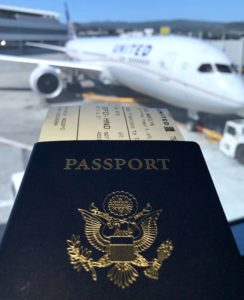 Travel abroad passport